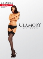 Glamory Perfect 20 Strapsstrümpfe - transparent